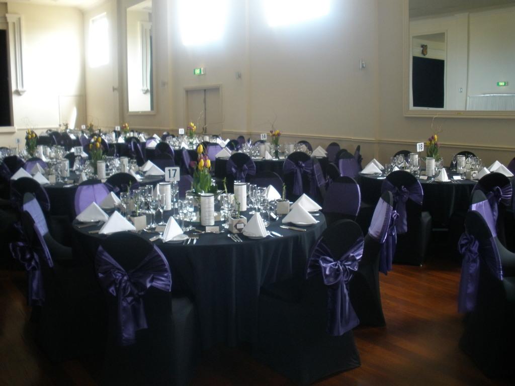 Black Table Set-up